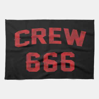 Crew 666 hand towel