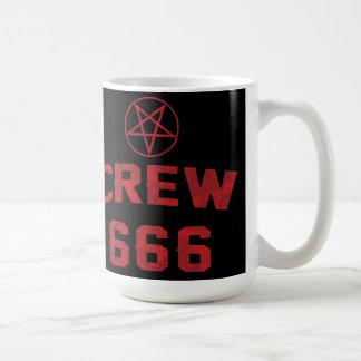 Crew 666 Pentagram Coffee Mug