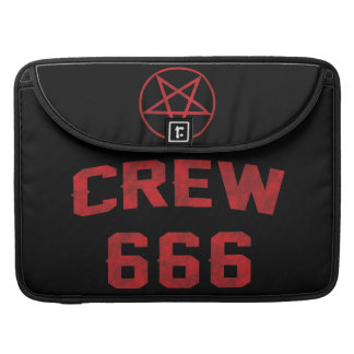 Crew 666 Pentagram Sleeve For MacBook Pro