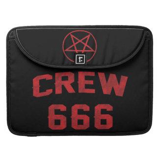 Crew 666 Pentagram Sleeve For MacBooks