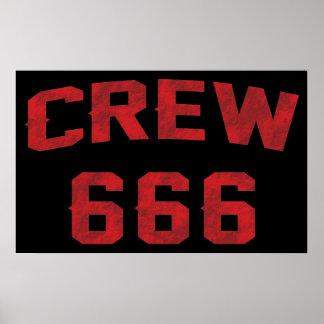Crew 666 poster