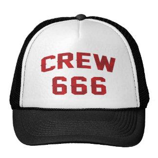 Crew 666 trucker hat