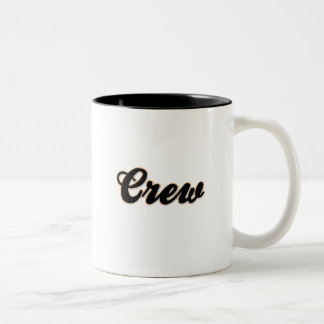 Crew Baseball Two-Tone Coffee Mug