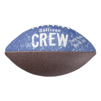 CREW | Blue & White Family Name | Family Reunion Football