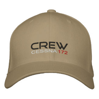 crew Cessna 172 Embroidered Baseball Cap