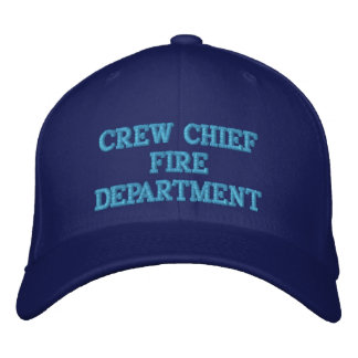 CREW CHIEF EMBROIDERED HATS