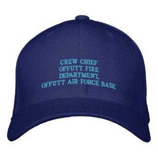 CREW CHIEF OFFUTT AIR FORCE BASE BASEBALL CAP