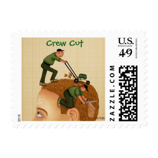 CREW CUT - US Postage stamps