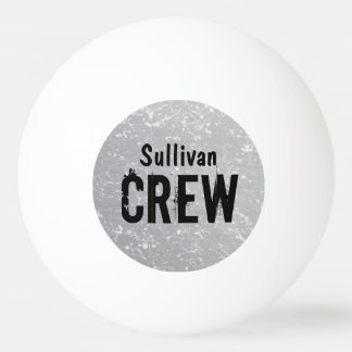CREW | Group or Family Name | Family Reunion Ping-Pong Ball