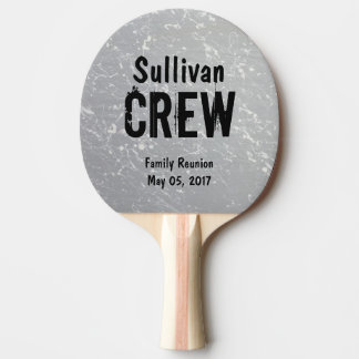 CREW | Group or Family Name | Family Reunion Ping-Pong Paddle