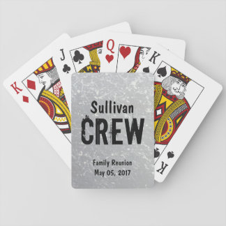 CREW | Group or Family Name | Family Reunion Playing Cards