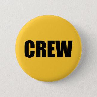 Crew Member - Event Team Staff Pinback Button