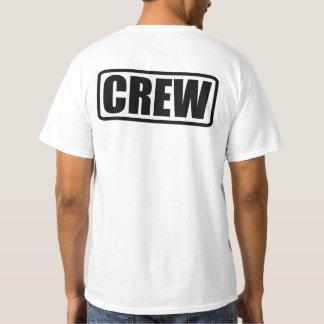 Event crew t shirts shirt designs zazzle for Event staff shirt ideas