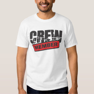 crew members shirt