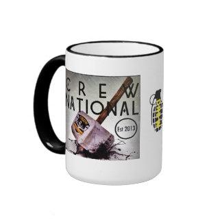 Crew National Team Mug. Ringer Mug