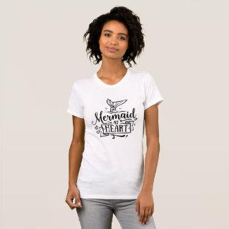 Crew Neck T-shirt - Mermaid at Heart