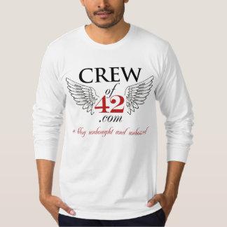 Crew of 42 Longsleeve for Hunks - MBRS on BACK! T-Shirt