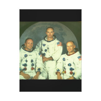 Crew of an Apollo Mission_Space Canvas Print