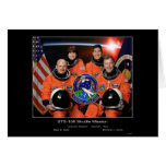 Crew of the - STS-108 Shuttle Miss... - Customized Cards