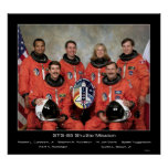 Crew of the STS-85 Shuttle Mission... Posters
