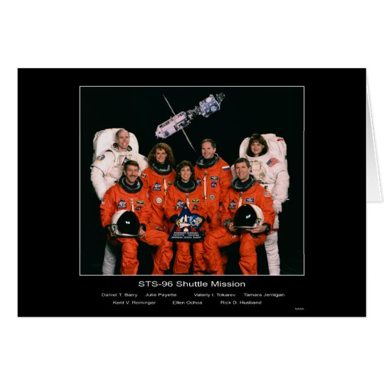 Crew of the STS-96 Shuttle Mission – 1999 Card