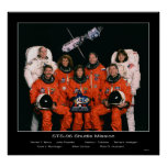 Crew of the STS-96 Shuttle Mission Posters