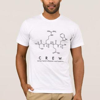 Crew peptide name shirt