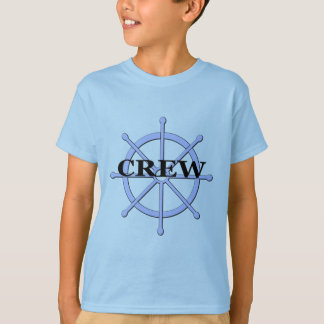 Crew Ship Wheel Kids T-shirt