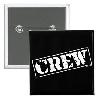 Crew Stamp 2 Inch Square Button