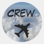 Crew Sticker