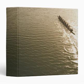Crew Team Vinyl Binder