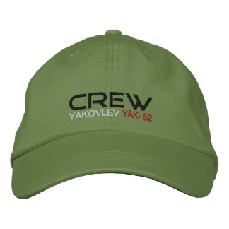 CREW Yak-52 Embroidered Baseball Hat