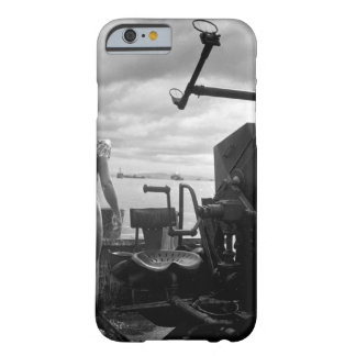 Crewman of a PT covering himself_War Image Barely There iPhone 6 Case
