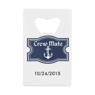 Crewmate Sail On Wallet Bottle Opener