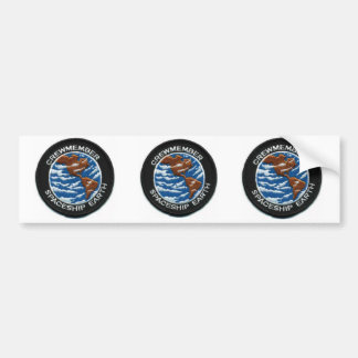 Crewmember Spaceship Earth Bumper Sticker