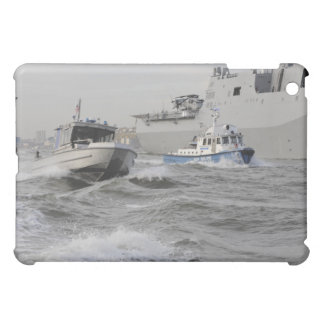 Crews from the coast guard and police departmen iPad mini covers