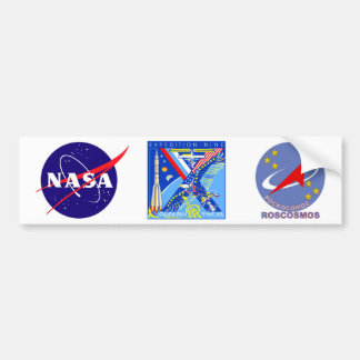 Crews to the ISS:  Expedition 14 Bumper Sticker