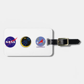 Crews to the ISS:  Expedition 16 Bag Tag