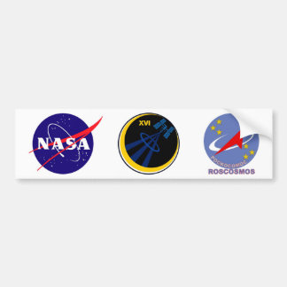 Crews to the ISS:  Expedition 16 Bumper Sticker