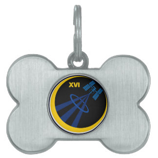 Crews to the ISS:  Expedition 16 Pet Name Tag