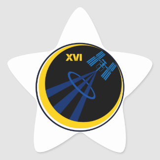 Crews to the ISS Expedition 16 Stickers