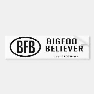 Creyente de Bigfoot Pegatina Para Auto