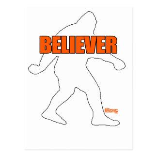 Creyente de Bigfoot Postales