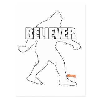 Creyente de Bigfoot Tarjeta Postal