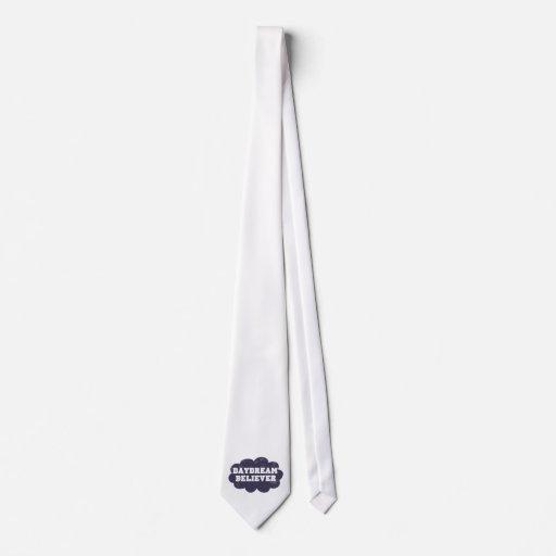 Creyente del ensueño corbata personalizada