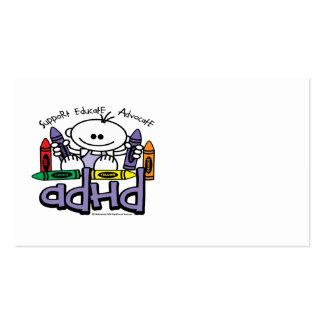CREYONES DE ADHD PLANTILLA DE TARJETA PERSONAL