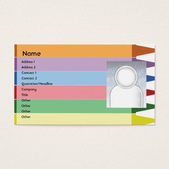 Creyones - negocio tarjetas de visita