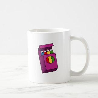 creyones tazas de café