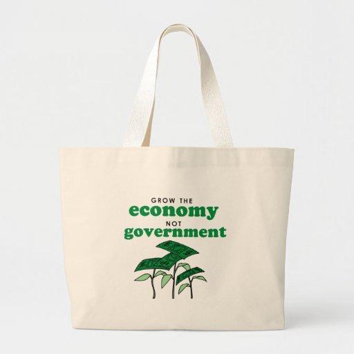 Crezca al gobierno de la economía no bolsa de mano