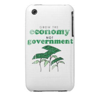 Crezca al gobierno de la economía no iPhone 3 Case-Mate protectores